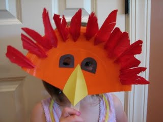 Maschera da Uccello da Riciclo Creativo Piatti