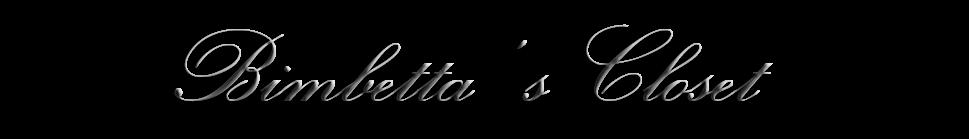 ..:: ღ Bimbetta's Closet ღ ::..