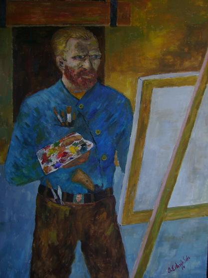 Las armas de Van Gogh, y todas las usó.