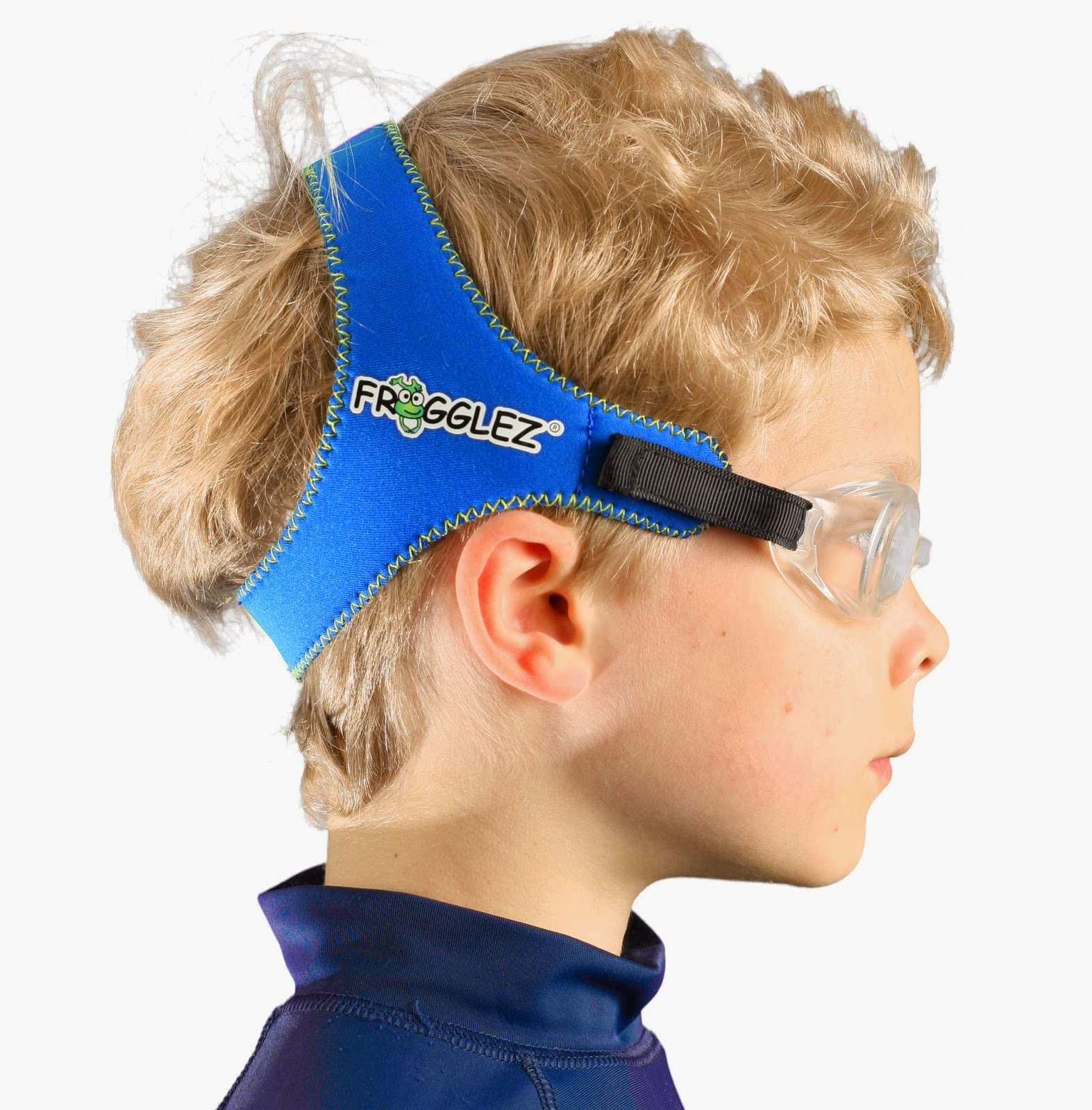 Comfortable Swim Goggles For Kids - Frogglez Goggles