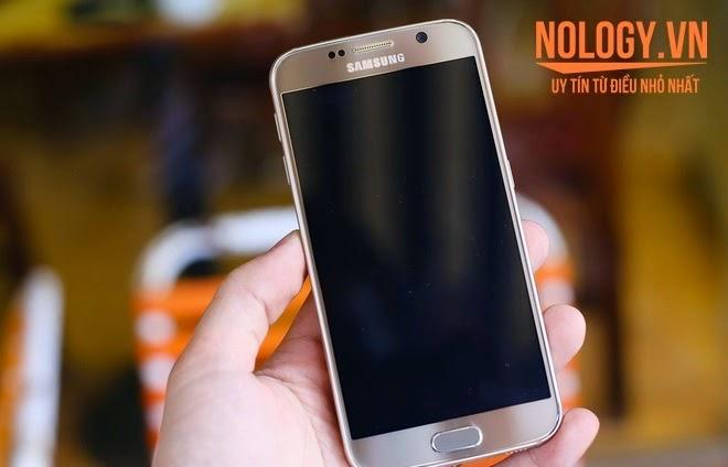 Samsung Galaxy S6 2 Sim xách tay màn hình