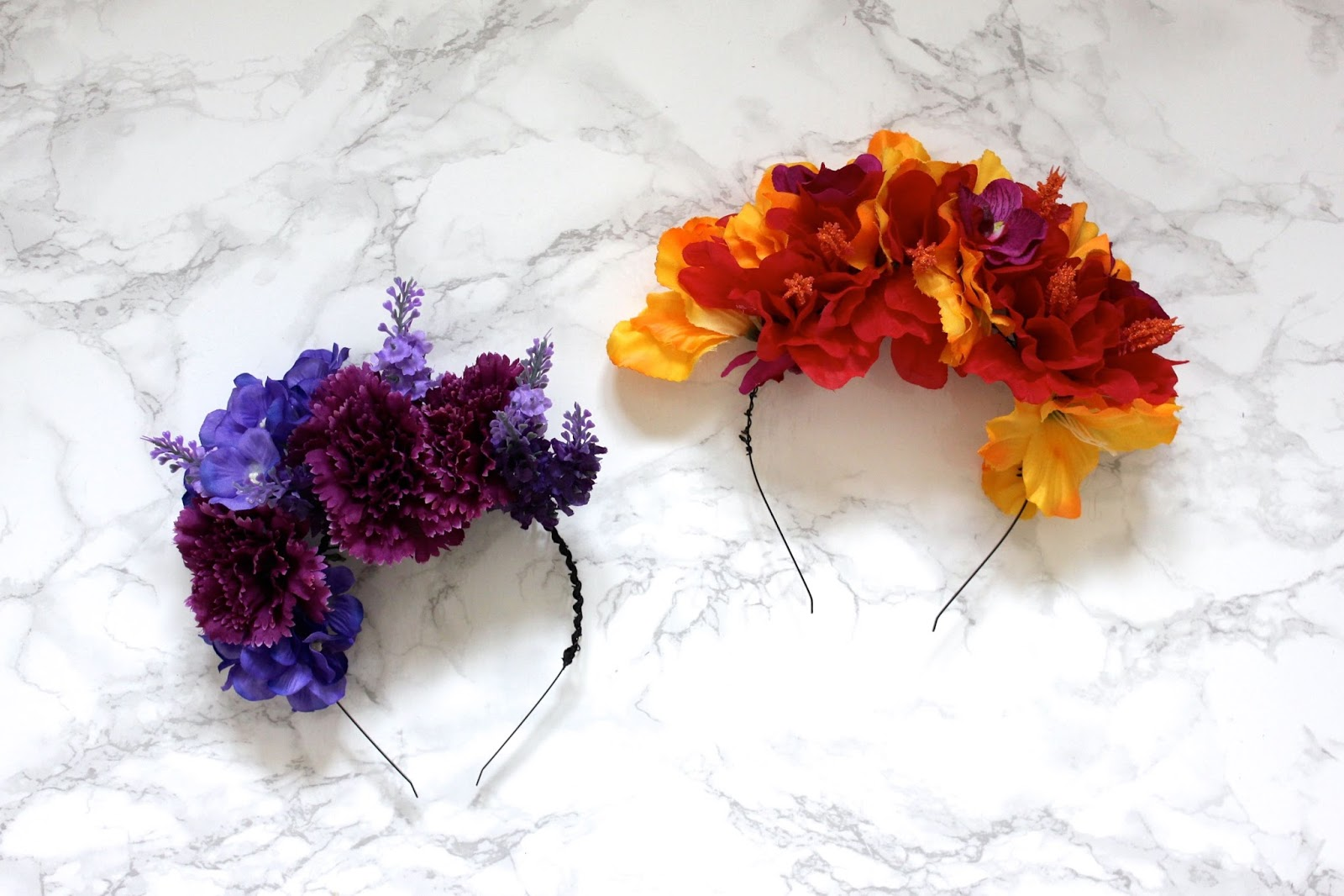 Urban Fox DIY: DIY: Frida Kahlo Floral Headpiece
