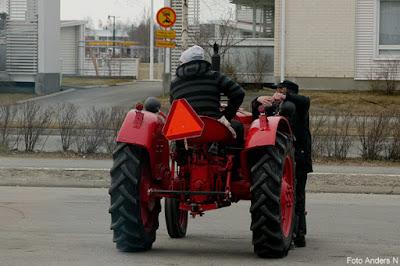 En traktor