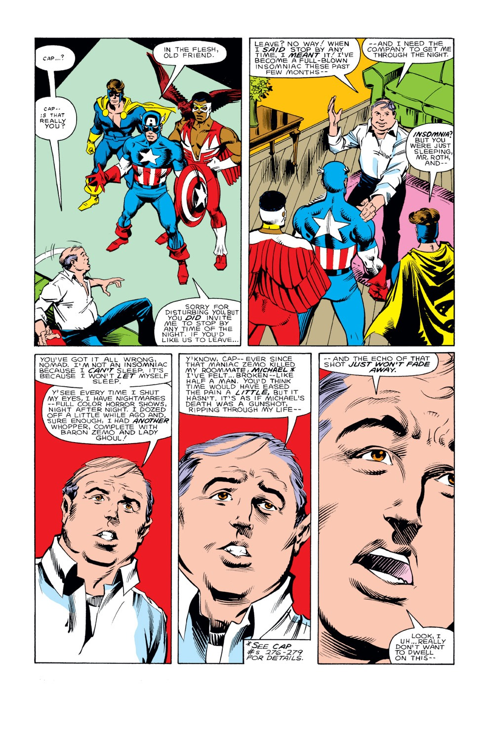 Captain America (1968) Issue #290 #206 - English 18