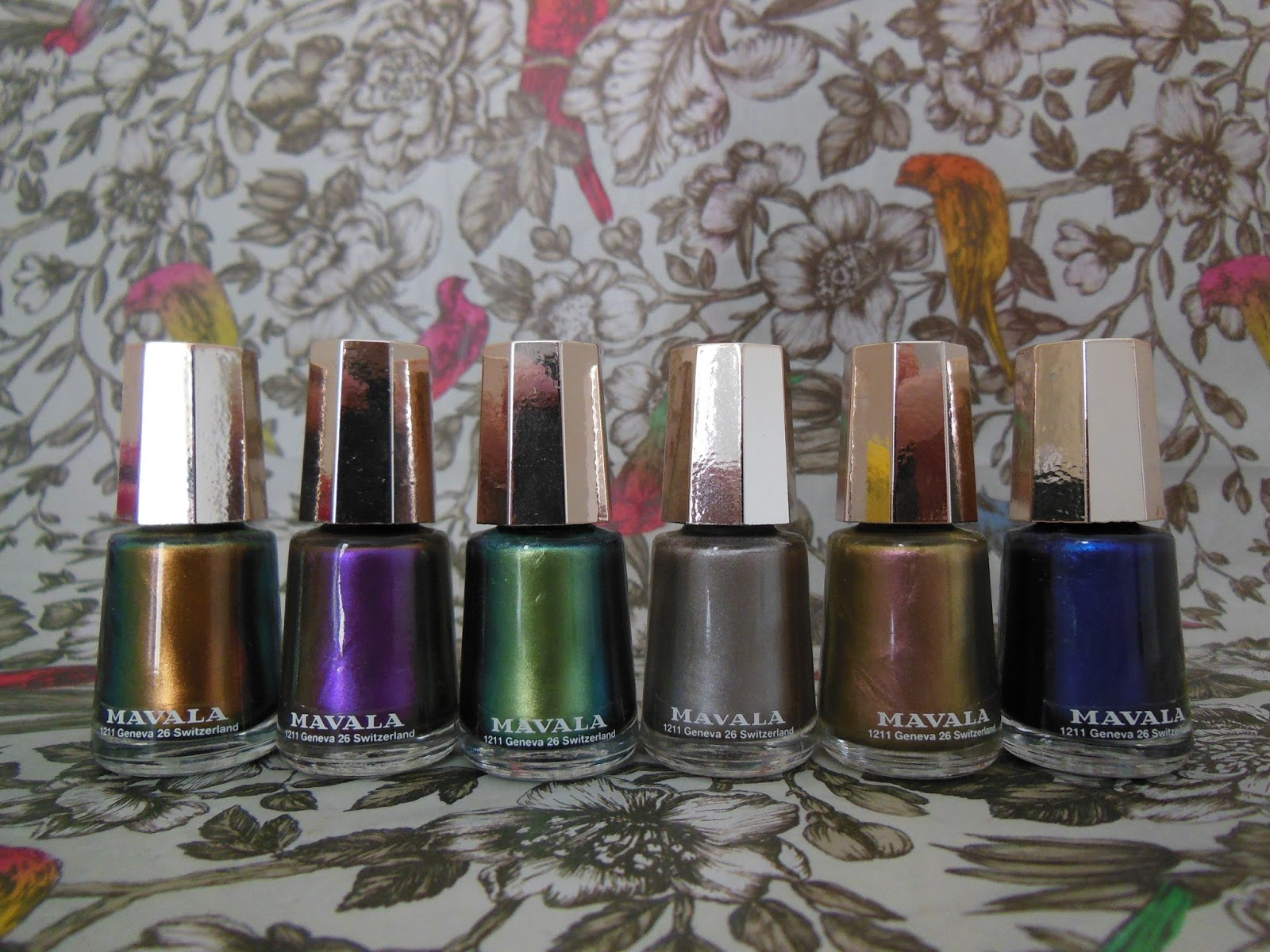 Mavala Metropolitan collection nail polishes