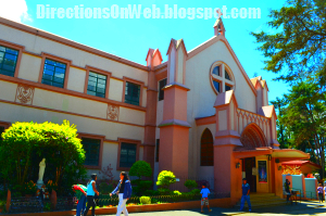 Pink Sisters Convent at Brent Wood Baguio City