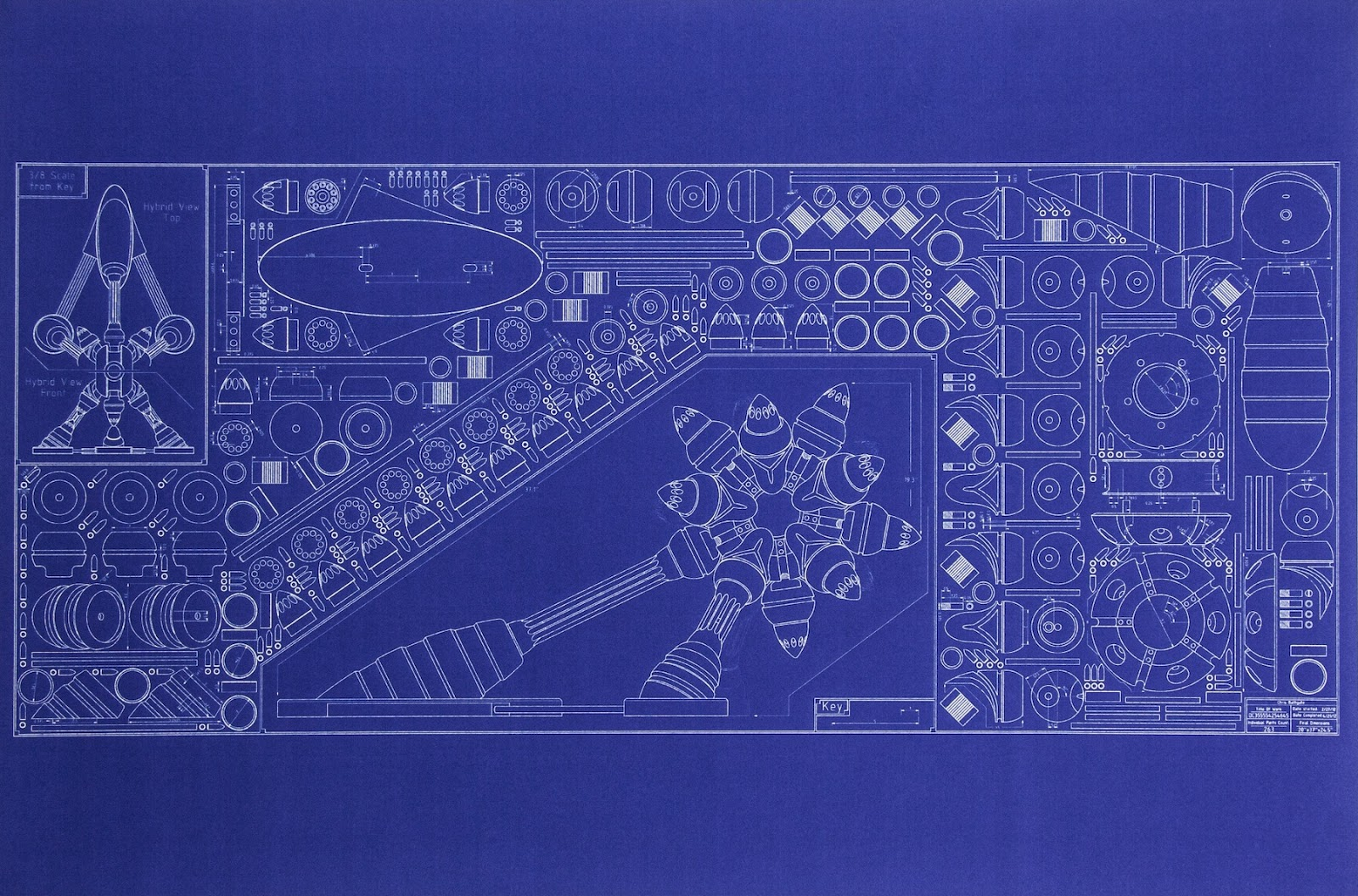 blueprints for a time machine
