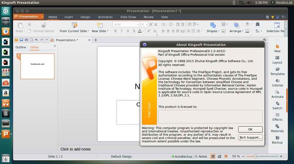 Kingsoft Presentations