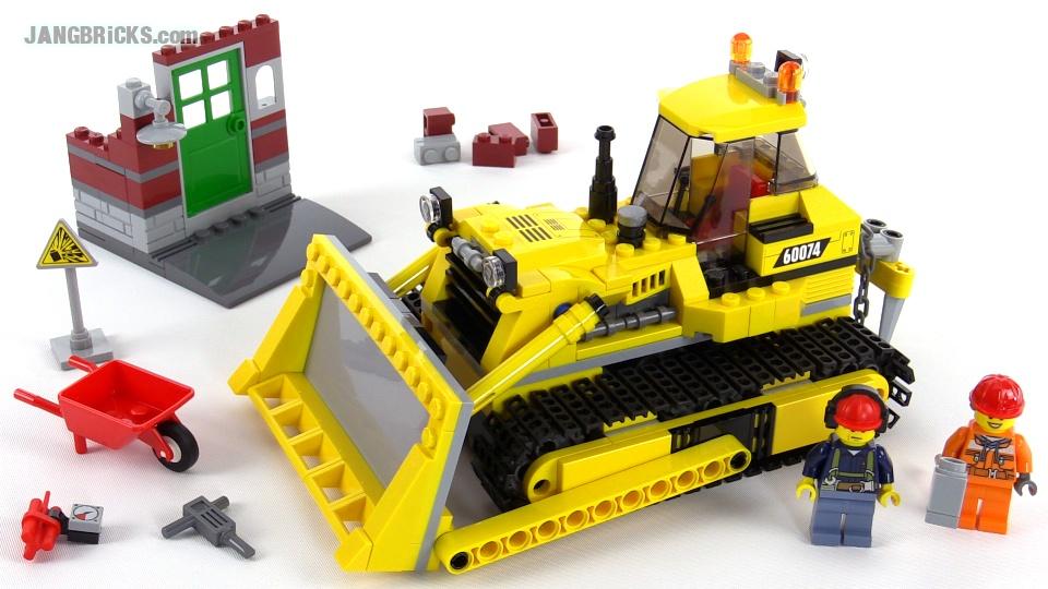 LEGO City Bulldozer 60074