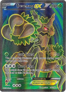 Trevenant EX Primal Clash Pokemon Card