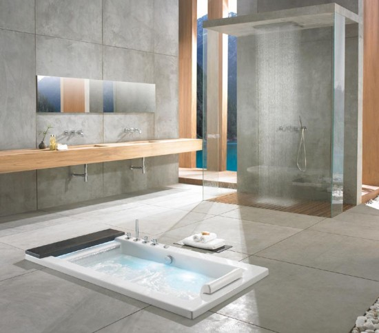 Tina De Baño Japonesa:Bañeras de hidromasaje, una tradición japonesa en el cuarto de baño