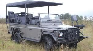 Mobil Land Rover Defender Safari EV Bermesin Baterai Lithium-ion