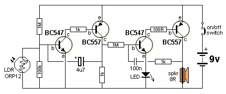 Electronic circuit, componnent data, lesson and etc….: DARK DETECTOR ...