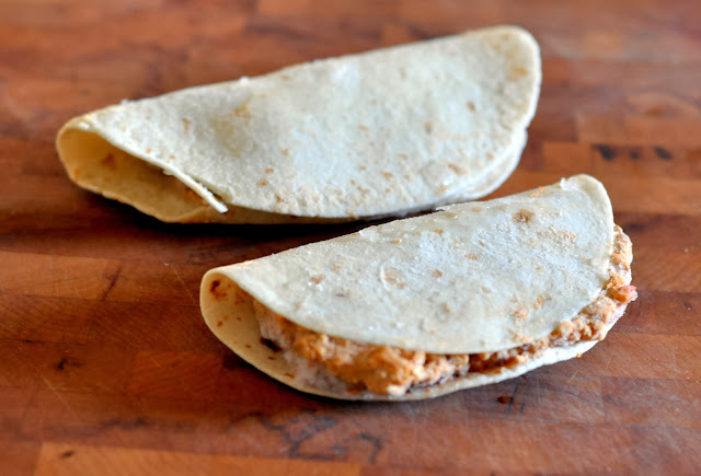 Red's All Natural Pulled Pork Quesadillas | Taste As You Go