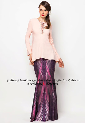 baju kurung design at another level by jovian