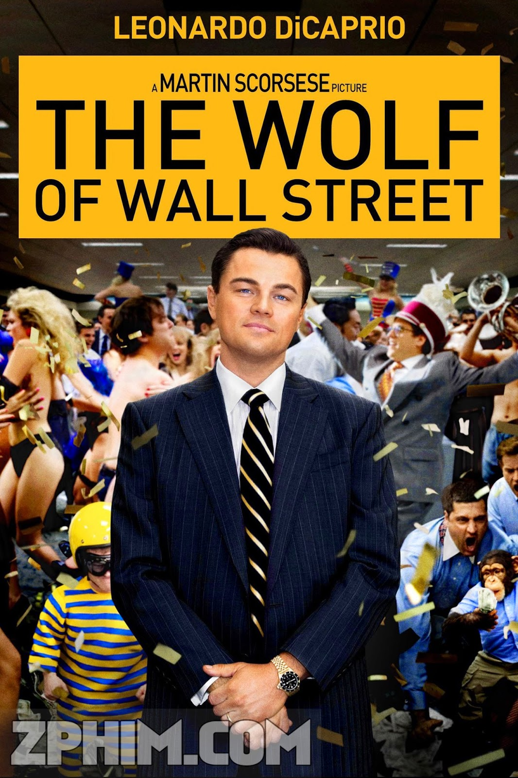 Sói Già Phố Wall - The Wolf of Wall Street (2013) Poster