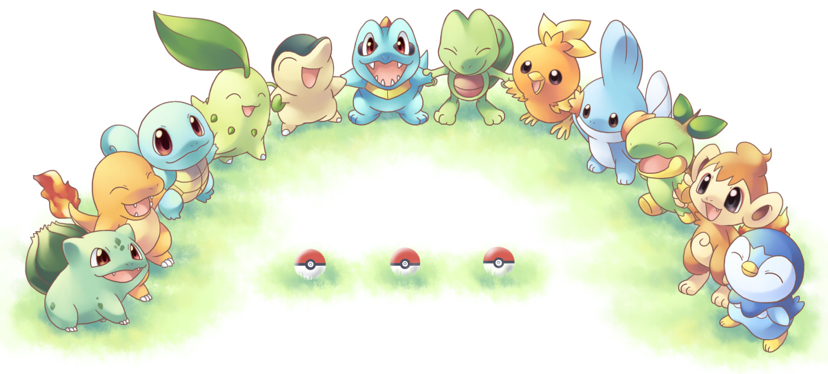 Dejesta Awesome Pokemon Starters Are Awesome