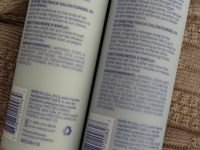 Fekkai PrX Reparatives Shampoo and Conditioner