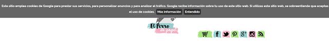 Cómo quitar el mensaje de Cookies de Blogger