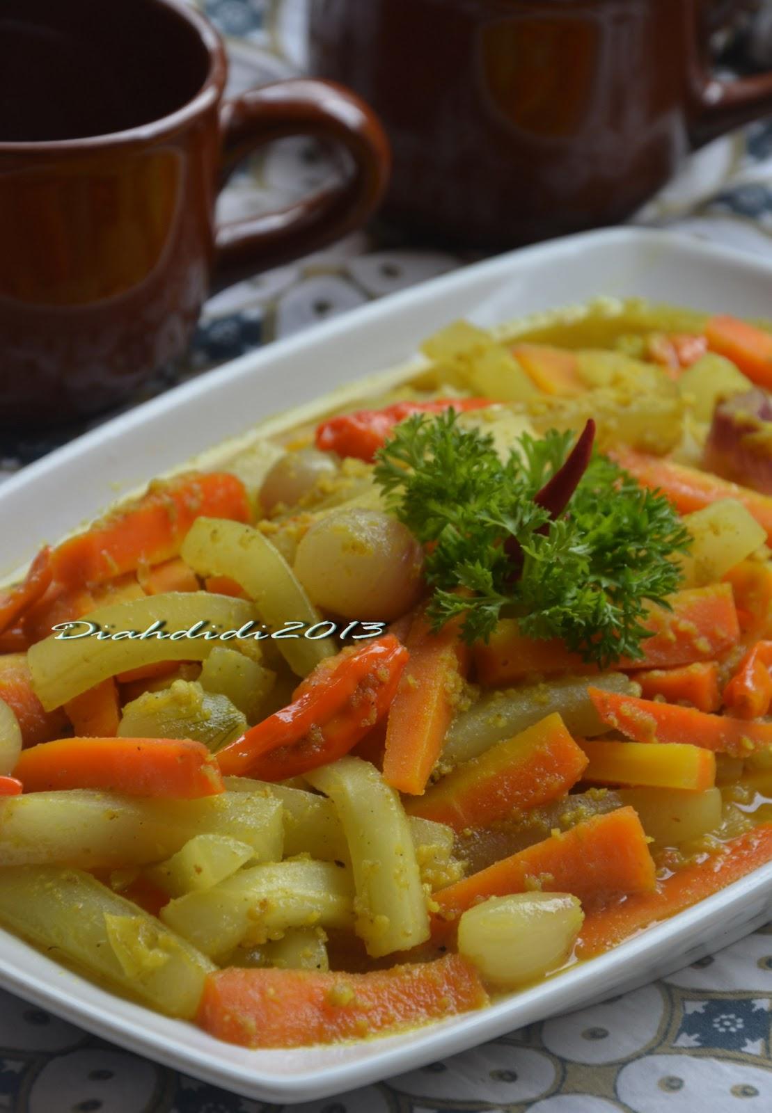 Resep acar timun wortel segeeerrr bgt. Diah Didi S Kitchen Acar Kuning