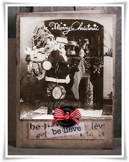 Grungy Altered Art Primitive Card