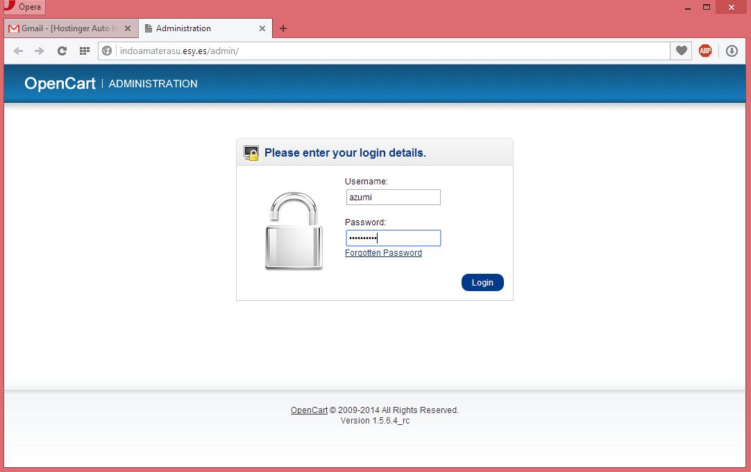 Membuat Website Toko Online Dengan CMS Opencart 10