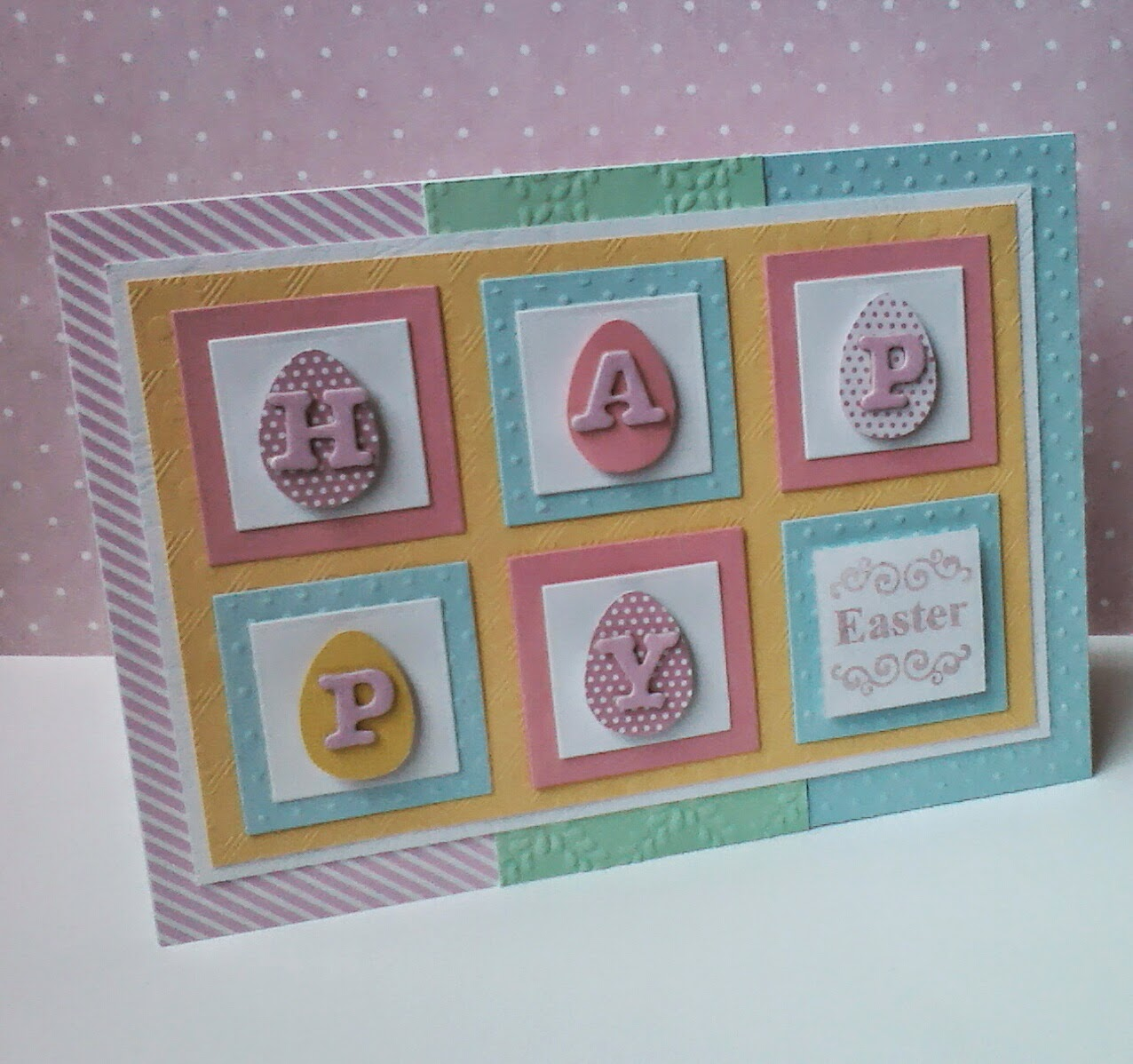 Pastel Easter Card.