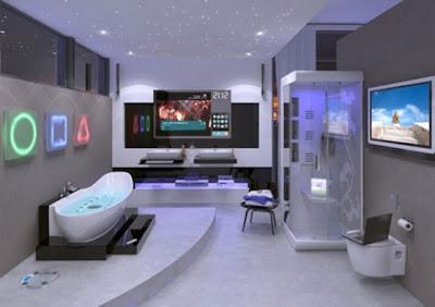 baño alta tecnología