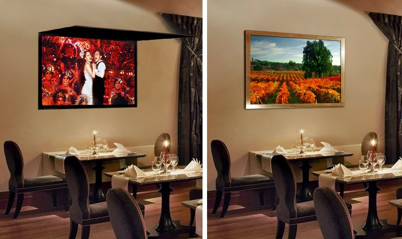 Frame the TV with Art or Mirror | Hide TV Solutions