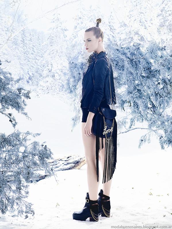 Coleccion Carla Danelli otoño invierno 2014 moda carteras 2014.