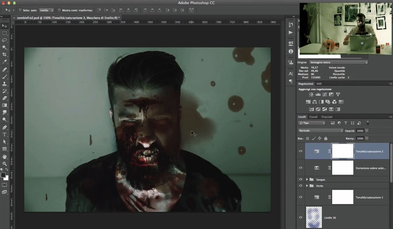 Zombie Effect Tutorial