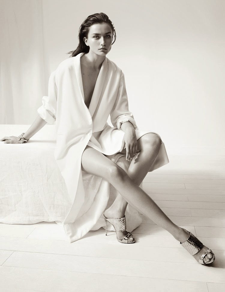 Andreea Diaconu for Giuseppe Zanotti Fall 2014 - Cool Chic Style Fashion