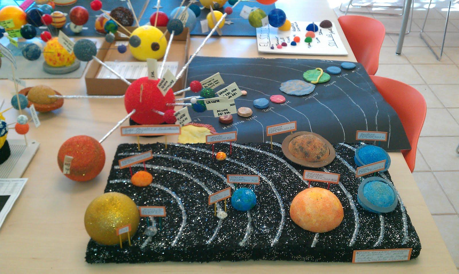 maquetas del sistema solar para ni os   imagui
