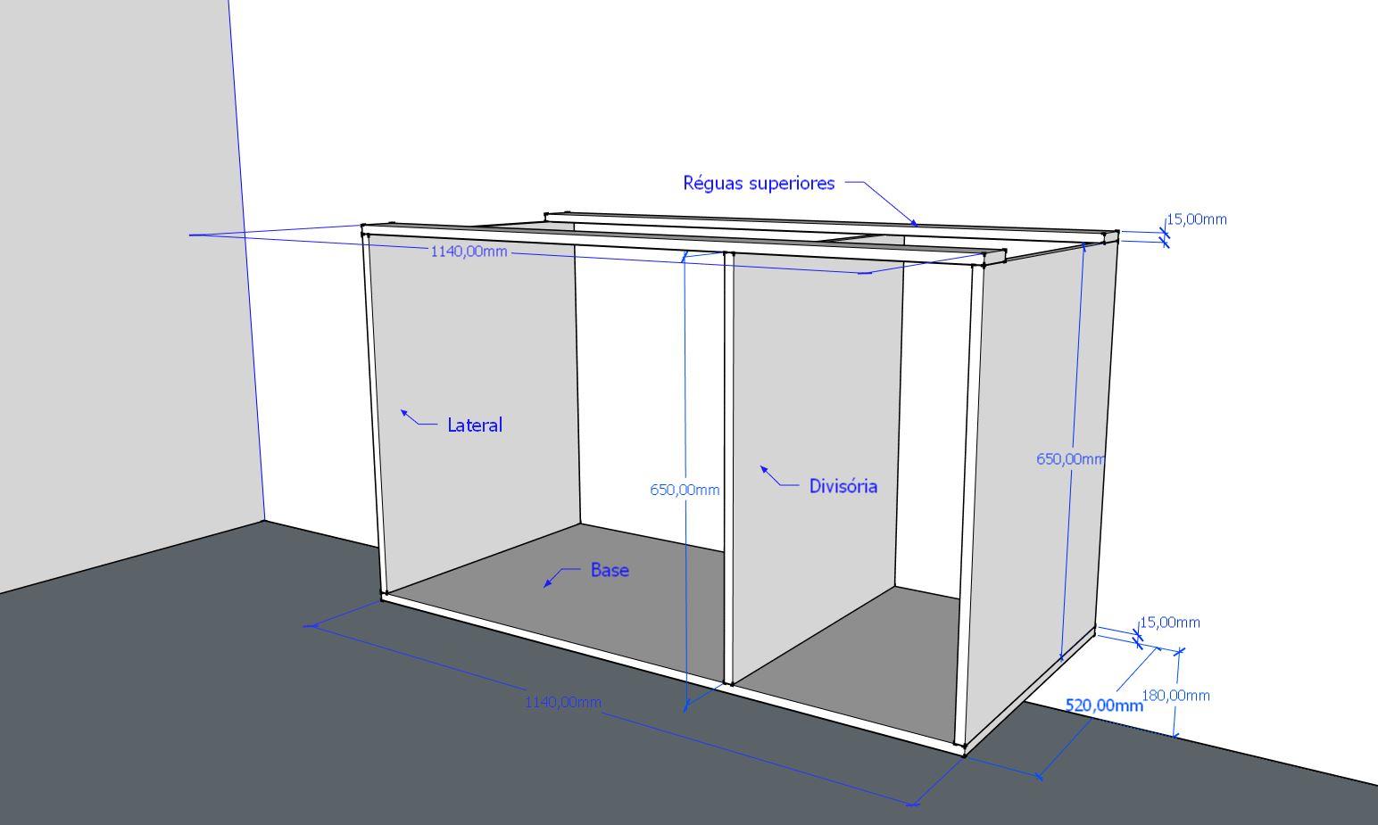 Construindo arm rios para cozinha marceneiro moderno for Gabinete de pared 10 ru