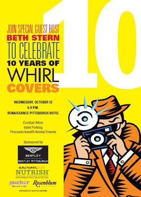 WHIRL Magazine, Pittsburgh, Animal Friends, 10 Years of WHIRL Covers