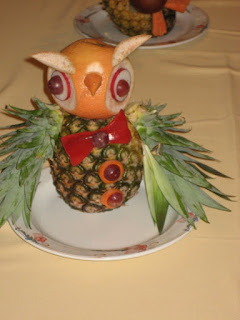 Kids Fruit Carving