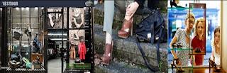 Vidriera Zapatos-Carteras