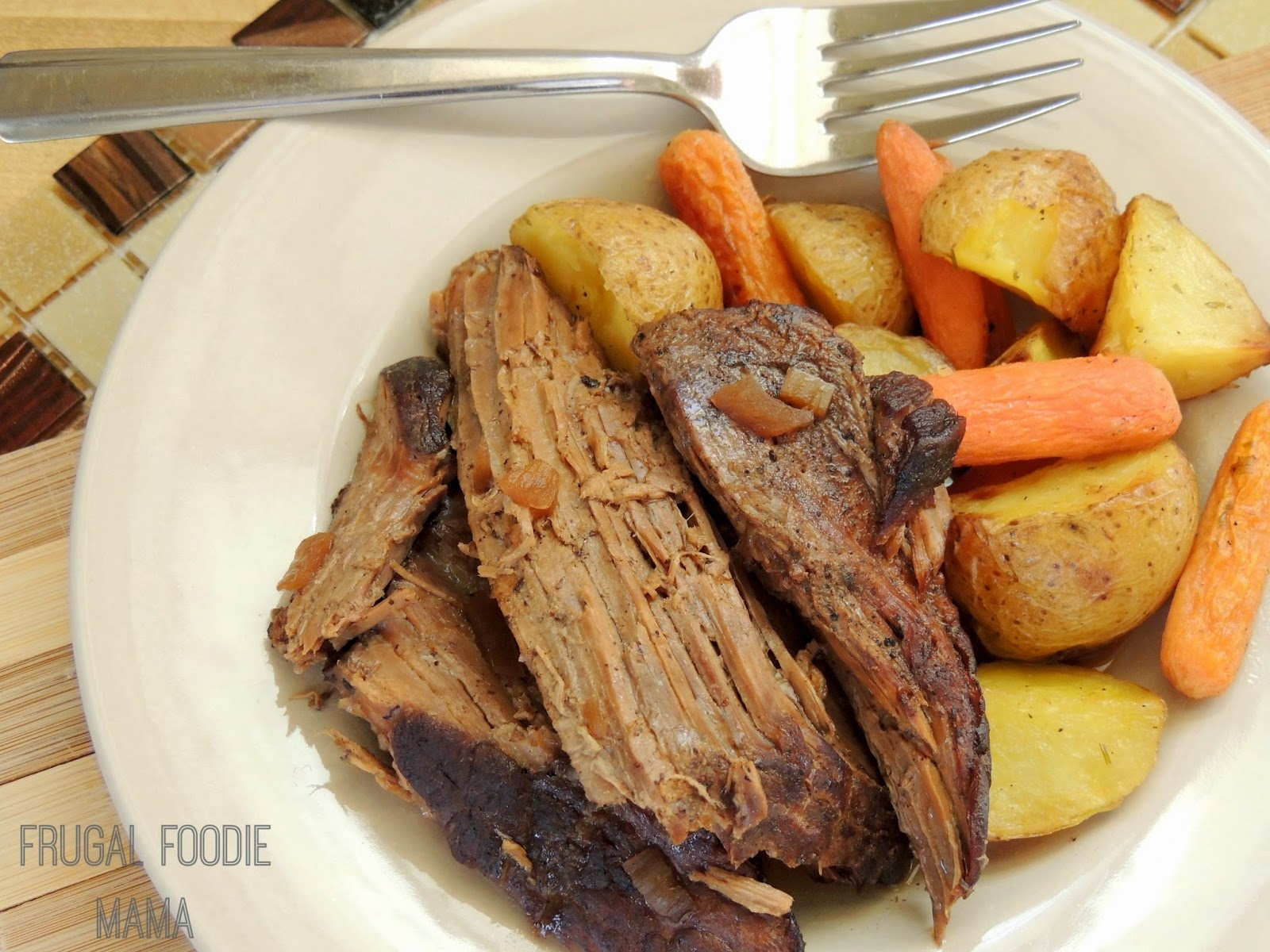 Slow Cooker Espresso Braised Pot Roast {& A Starbucks Verismo Giveaway ...