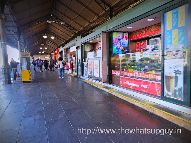 Flinders Street Station Food Stalls