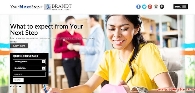 Your Next Step by Brandt International,Your Next Step, Brandt International, Cazar, mobile recruitment