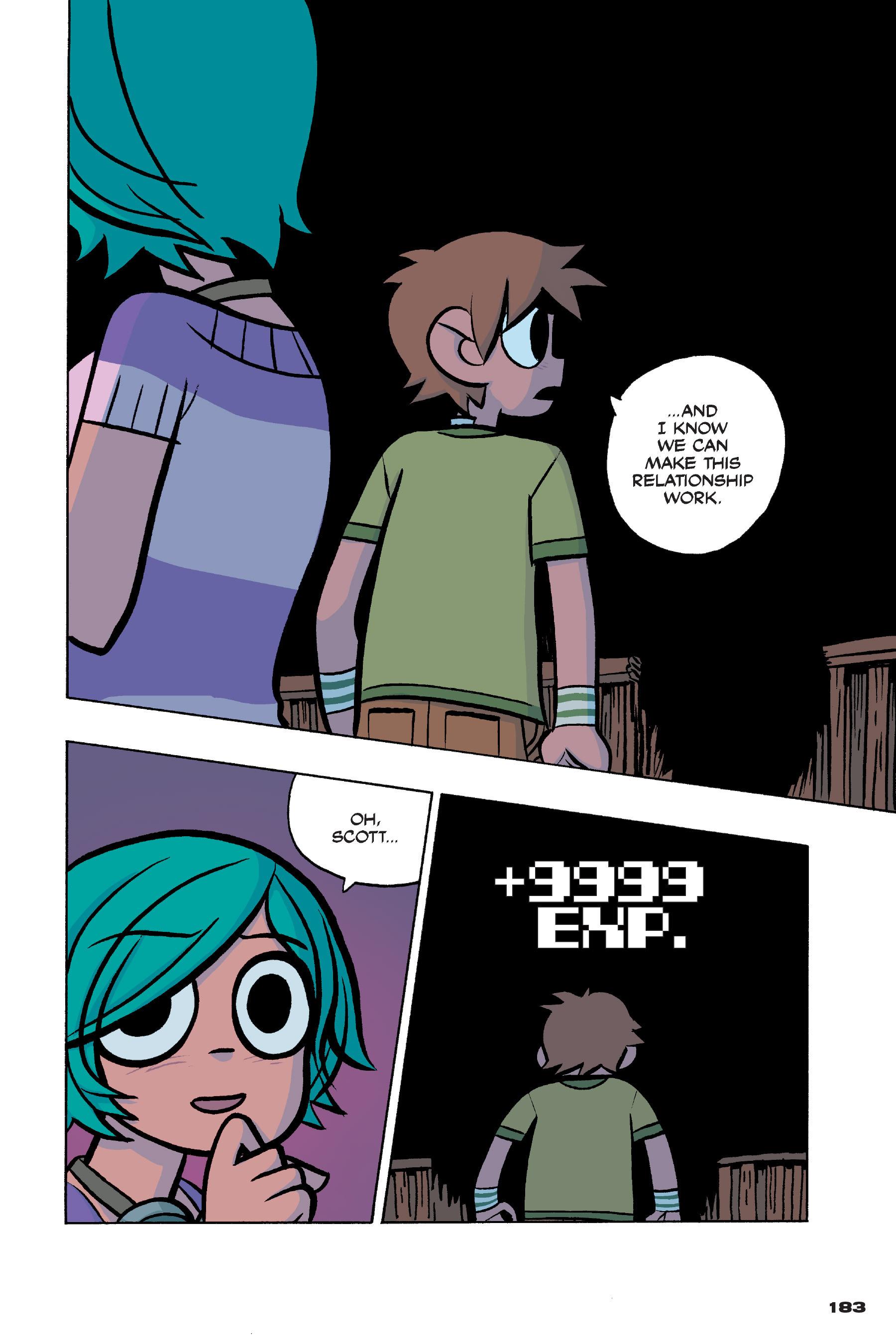 Read online Scott Pilgrim comic -  Issue #4 - 180
