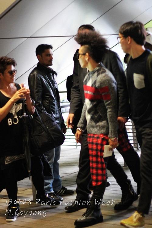 taeyang givenchy paris mens fashion week 2013
