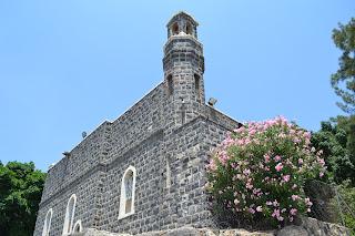 terra santa cafarnaum - igreja da primazia de Pedro