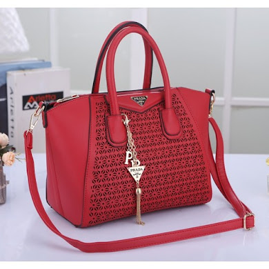 PRADA BAG - RED