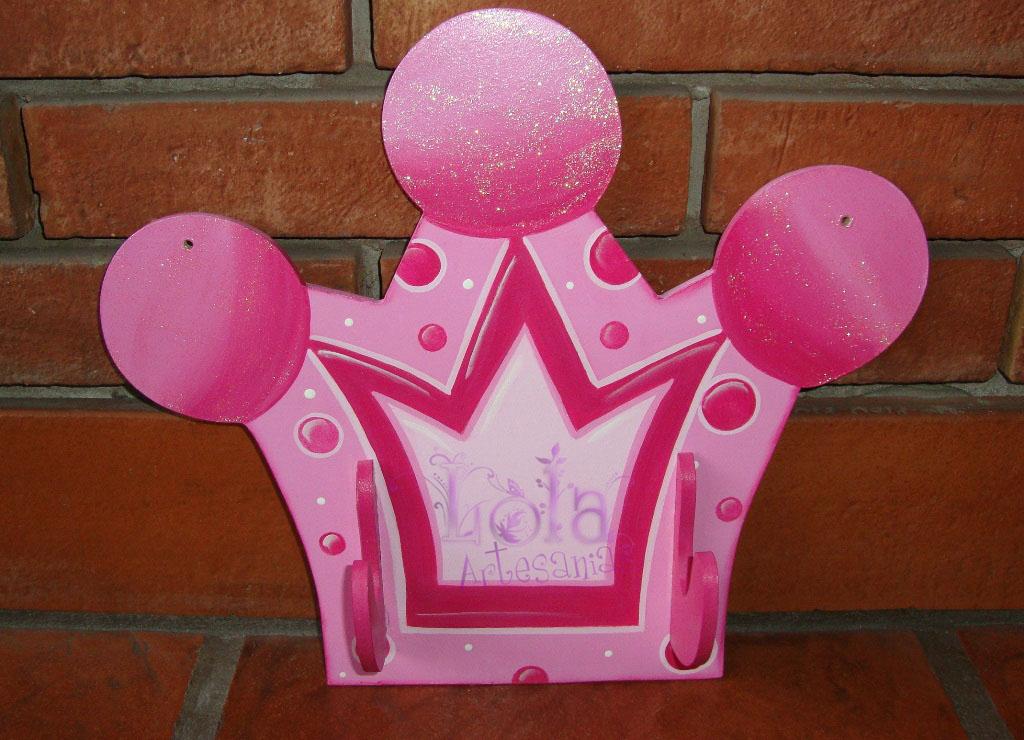 Molde de dulceros en forma de corona princesas - Imagui