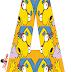 Alfabeto Gratis de Milhouse de los Simpson.