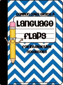 http://www.teacherspayteachers.com/Product/3rd-Grade-Language-Flaps-for-Interactive-Notebooks-854302