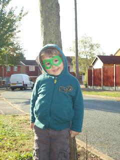 Big Boy as a Superhero