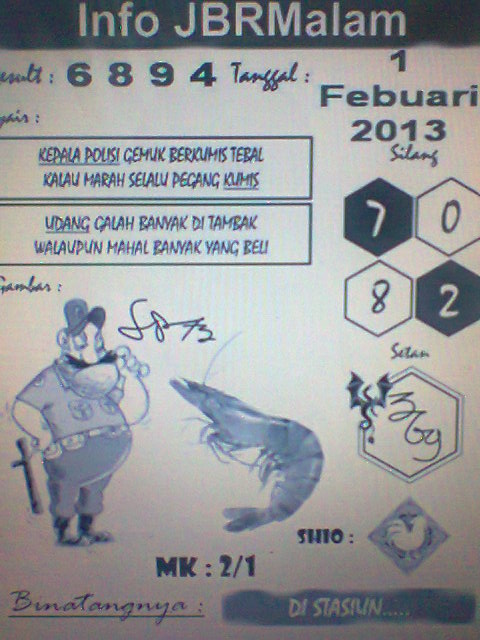 Bongkar Naga Putih: JBR Malam Edisi Jumad 01 Februari 2013