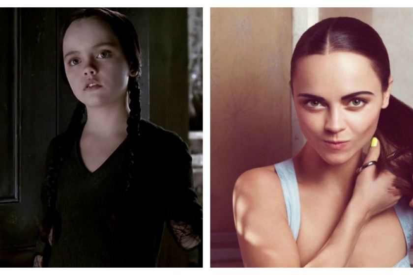 Christina Ricci se convirtió en Merlina Addams